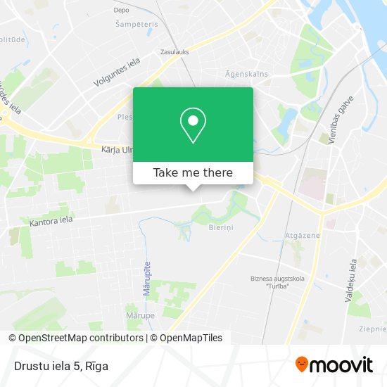 Drustu iela 5 map