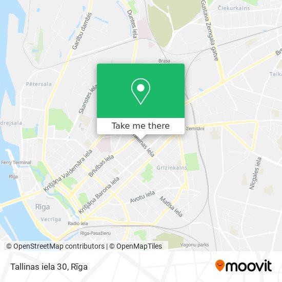 Tallinas iela 30 map