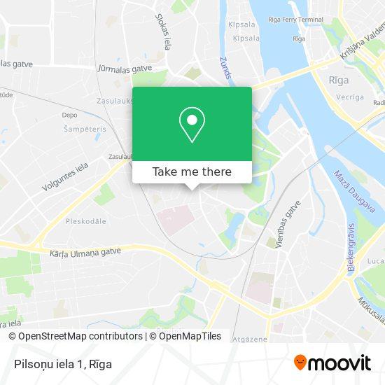 Pilsoņu iela 1 map