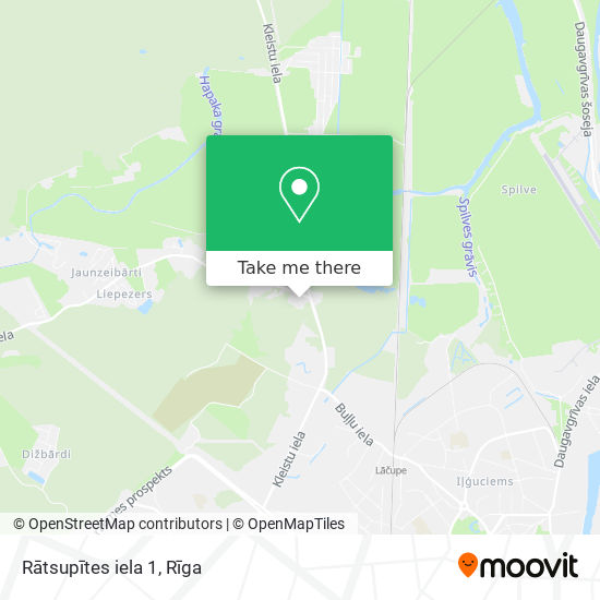Rātsupītes iela 1 map