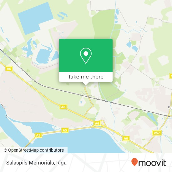 Salaspils Memoriāls map