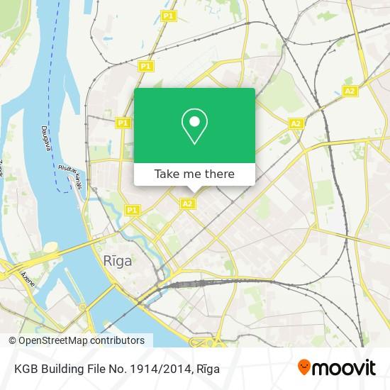 KGB Building File No. 1914 / 2014 map