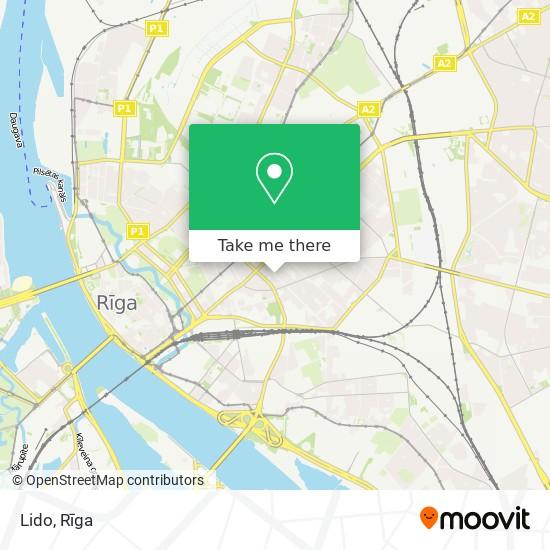 Lido map