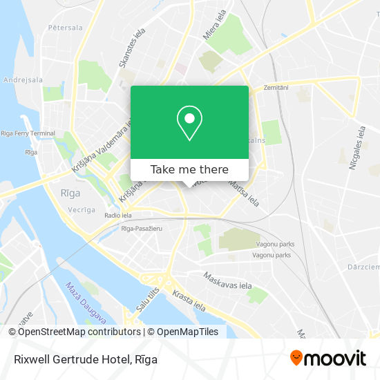 Rixwell Gertrude Hotel map