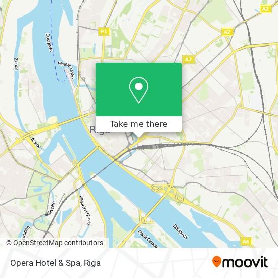 Opera Hotel & Spa map