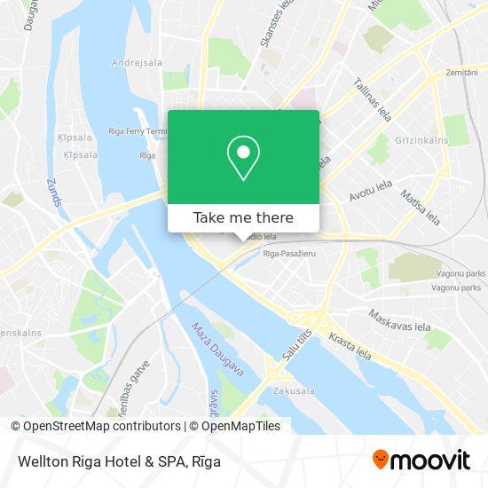 Wellton Riga Hotel & SPA map