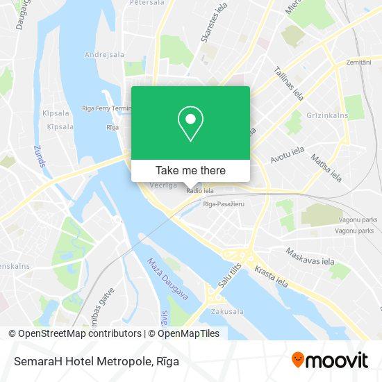 SemaraH Hotel Metropole map