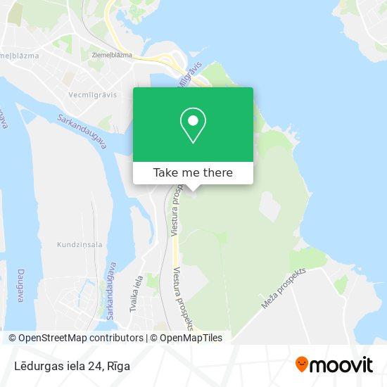 Lēdurgas iela 24 map