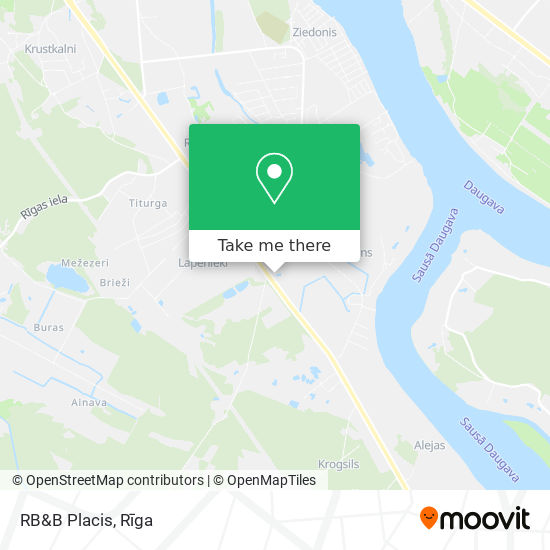 RB&B Placis map