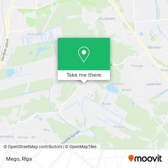 Mego map