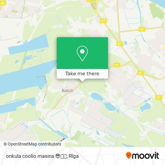 onkula coolio masina 😎🤘🏼 map