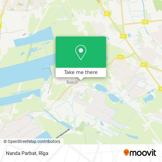Nanda Parbat map