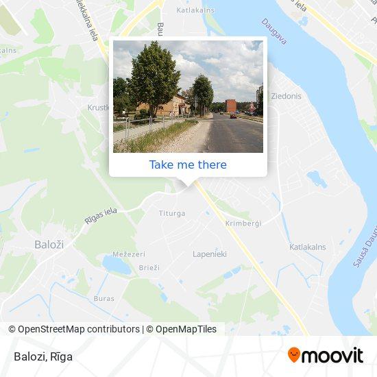 Balozi map