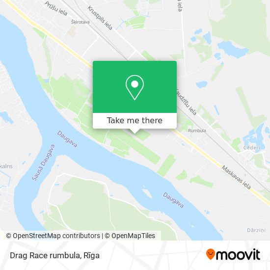 Drag Race rumbula map