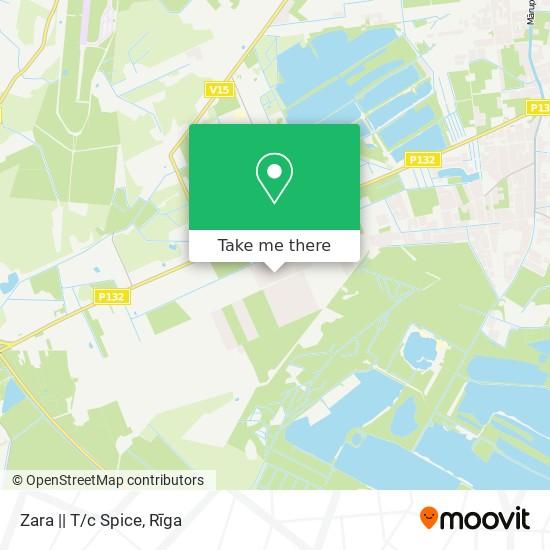 Карта Zara    T/c Spice