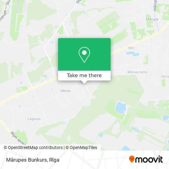 Mārupes Bunkurs map