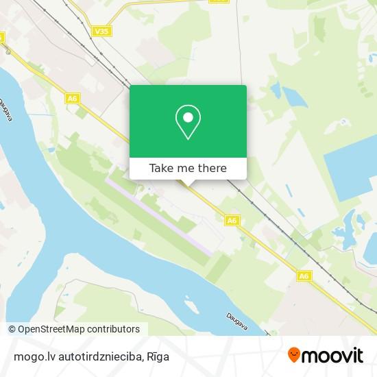 mogo.lv autotirdznieciba map