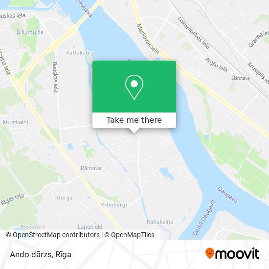 Ando dārzs map
