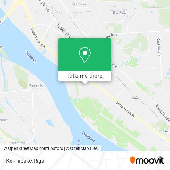 Кенгаракс map