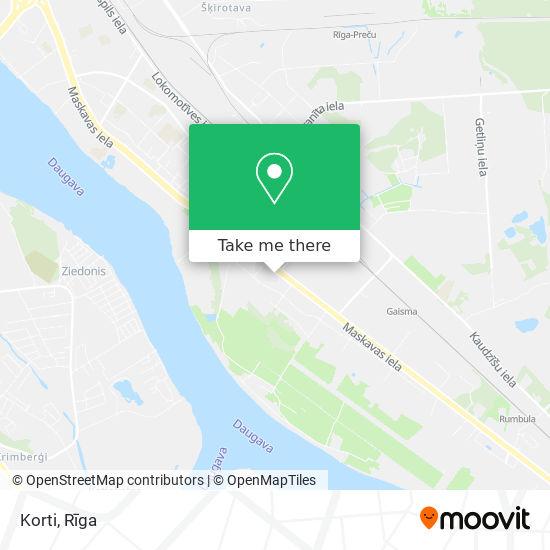 Korti map