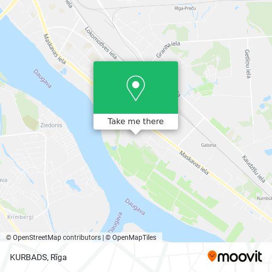 KURBADS map