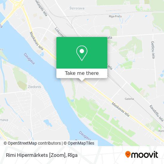 Rimi Hipermārkets [Zoom] map