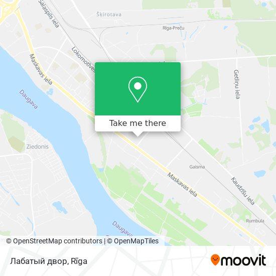 Лабатый двор map