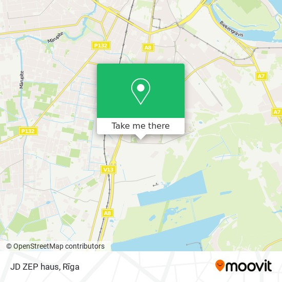 JD ZEP haus map