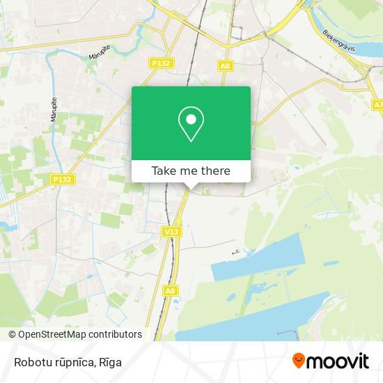 Robotu rūpnīca map