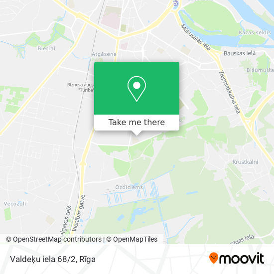 Valdeķu iela 68/2 map