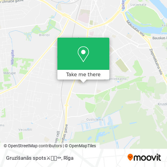 Gruzīšanās spots⚔🗡🔪⚰ map