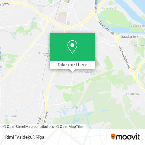 "Rimi ""Valdeķu"" map"