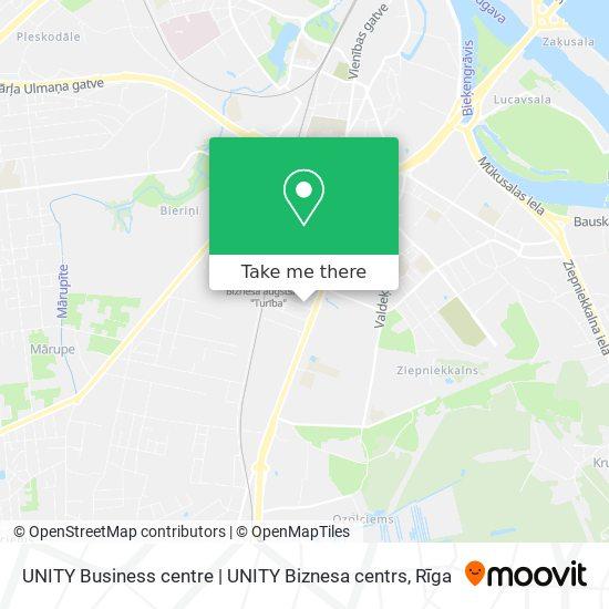 UNITY Business centre | UNITY Biznesa centrs map