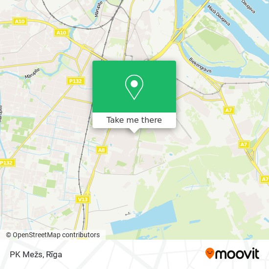 PK Mežs map