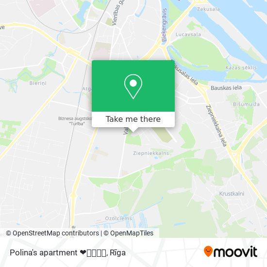 Polina's apartment ❤️💚💜💙💛 map