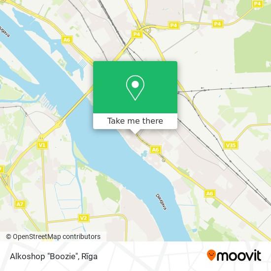 """Alkoshop """"Boozie"""" map"""