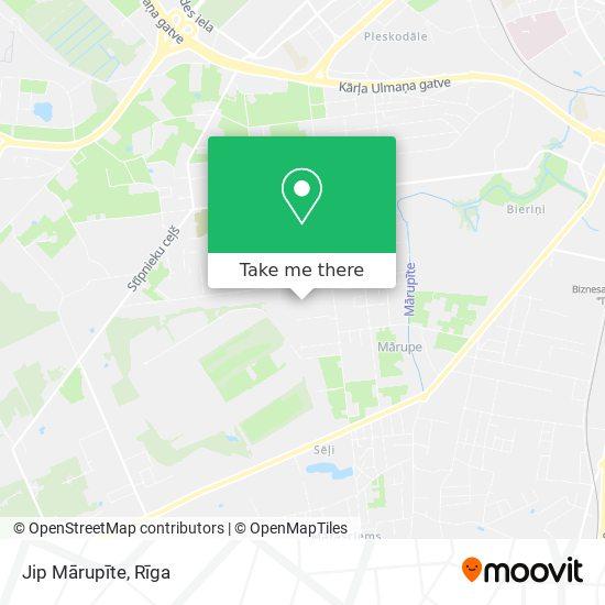 Jip Mārupīte map