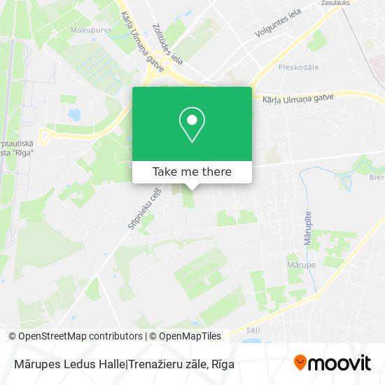 Mārupes Ledus Halle|Trenažieru zāle map