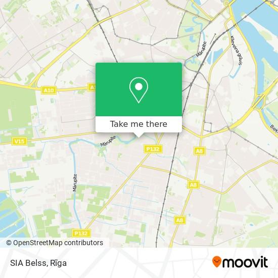 SIA Belss map