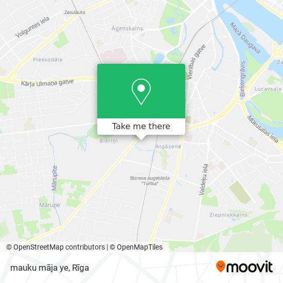 mauku māja ye map