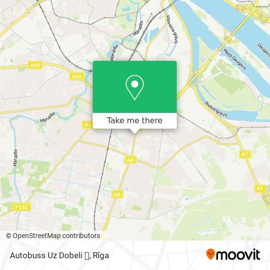 Autobuss Uz Dobeli 🍸 map
