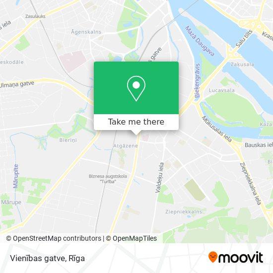 Vienības gatve map