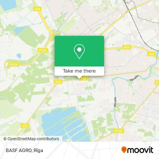 BASF AGRO map