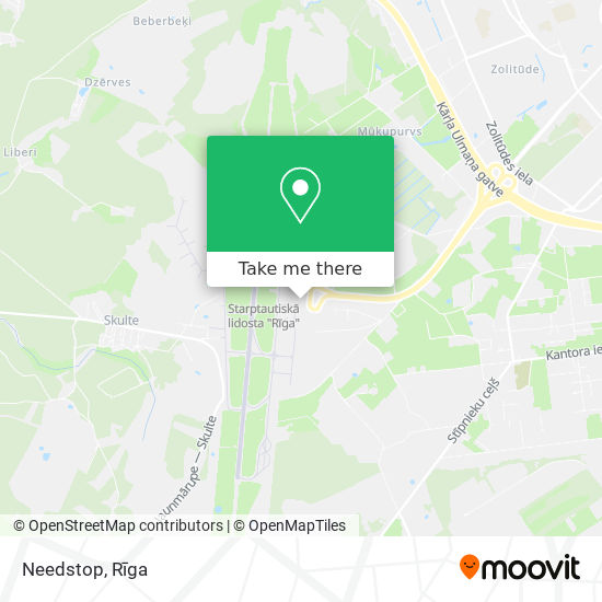 Needstop map