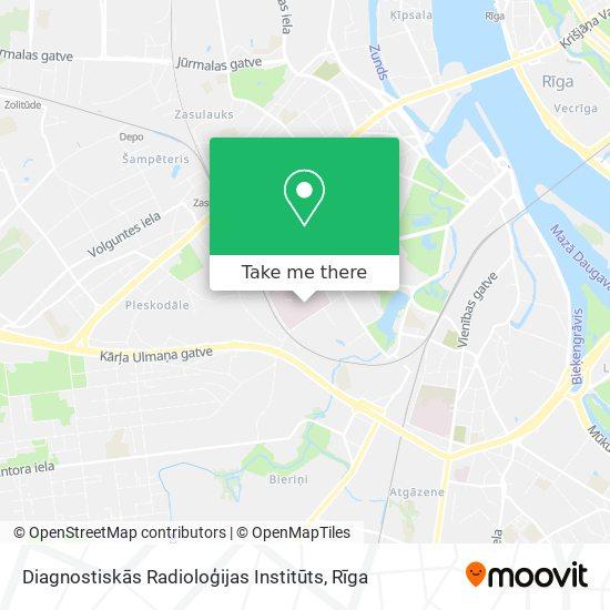 Diagnostiskās Radioloģijas Institūts map