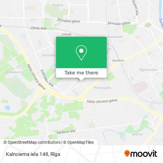 Kalnciema iela 148 map