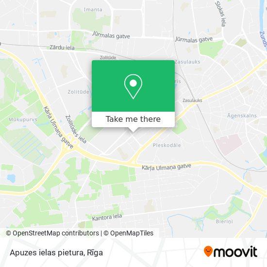 Apuzes ielas pietura map