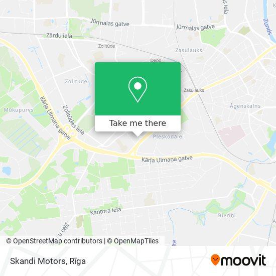 Skandi Motors map