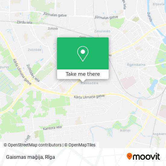 Gaismas maģija map
