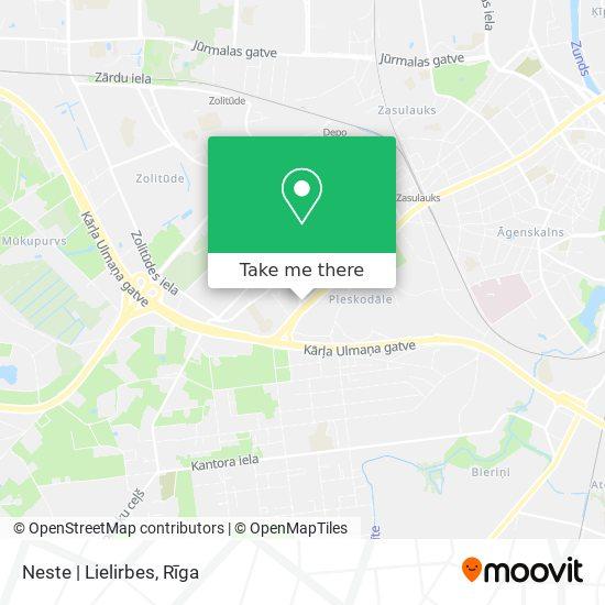 Neste   Lielirbes map